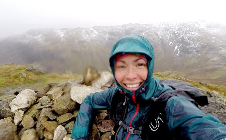 A Wet and Windy Calf Crag